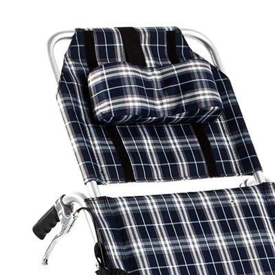 Wózek inwalidzki aluminiowy stabilizujący plecy i głowę FS954 LGC