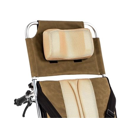 Wózek inwalidzki aluminiowy stabilizujący plecy i głowę ALH008