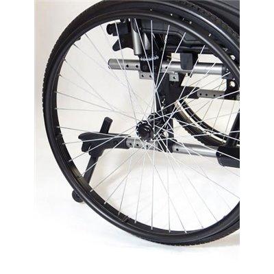 Wózek inwalidzki aluminiowy E1