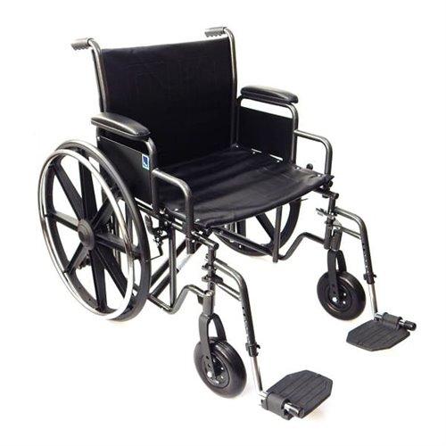 Wózek inwalidzki stalowy - wzmocniony K7