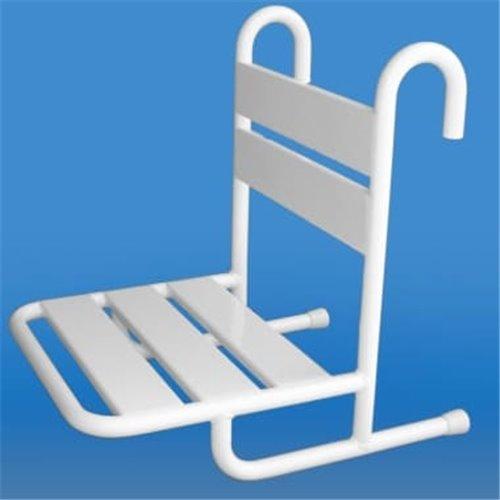 krzesełko prysznicowe zawieszane na poręczy KP-PORECZ