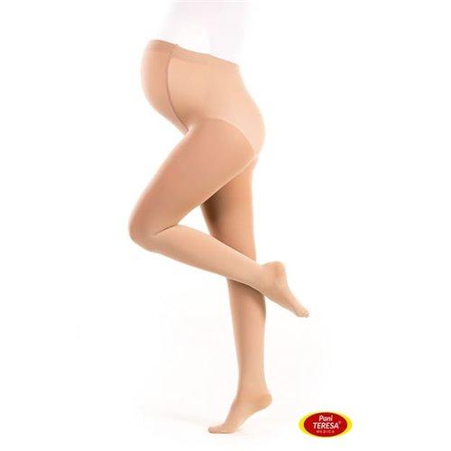 Rajstopy medyczne uciskowe dla kobiet w ciąży PANI TERESA CCL1 Premium