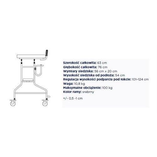 Podpórka ułatwiająca chodzenie typu Ambona TGR-R RS 8812